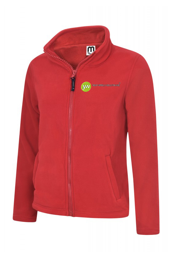 Ladies Comfort Fit Classic Full Zip Fleece Jacket