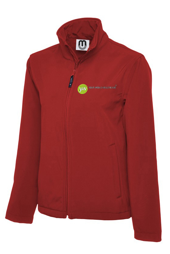 Unisex Classic Full Zip Soft Shell Jacket